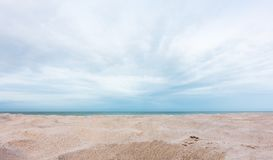 Free View Of Beautiful Beach Sand And Sky Background Royalty Free Stock Photos - 128467118