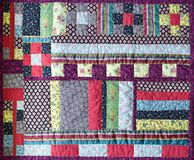 Free View Of  Beautiful Patchwork Quilt Stock Photography - 198715072