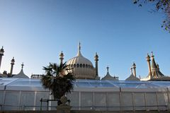 View Of Brighton Pavilion In A Sunny Day Royalty Free Stock Photos