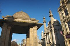 View Of Brighton Pavilion In A Sunny Day Stock Photography
