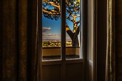 Free View Of Buildings In Italian Countryside Royalty Free Stock Photography - 137338117