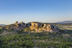View Of Cap Canaille Rock And Mediterranean Sea Fro Royalty Free Stock Images