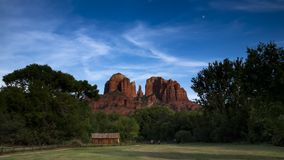 View Of Cathedral Rock In Sedona Arizona Stock Images