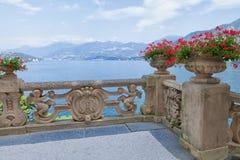 Free View Of Classic Terrace In The Park Of Villa Del Balbianello, Lake Como, Lenno, Lombardia, Italy Stock Images - 114578274