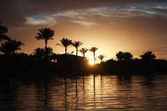 View Of Coast Line In Hurghada, Egypt, Red Sea Royalty Free Stock Photos