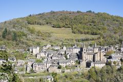 Free View Of Conques Stock Photography - 108208052