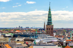 Free View Of Copenhagen From The Round Tower Stock Photos - 50621553
