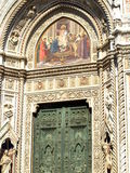 View Of Dome Portal In Florence, Italy Royalty Free Stock Photo