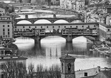 View Of Florence, Italy Royalty Free Stock Photos