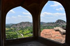 Free View Of Gingee Fort Royalty Free Stock Images - 158878199