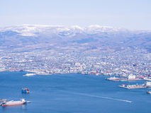View Of Hakodate Cityscape, Japan Stock Images