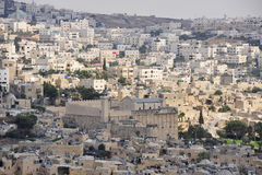 View Of Hebron City, Israel. Royalty Free Stock Photos