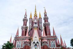 Free View Of Istana Anak Anak Play Center, A Children Castle Park, In Taman Mini Indonesia Indah Stock Image - 181705721