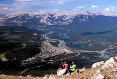 View Of Jasper NP Royalty Free Stock Photography