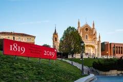 Free View Of Jeronimos Church And Prado Museum In Madrid Royalty Free Stock Image - 151070906