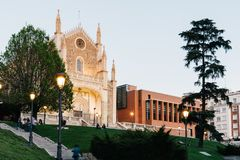 Free View Of Jeronimos Church And Prado Museum In Madrid Royalty Free Stock Images - 151070929