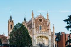 Free View Of Jeronimos Church And Prado Museum In Madrid Royalty Free Stock Image - 152109646