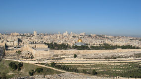 Free View Of Jerusalem Royalty Free Stock Images - 2132989