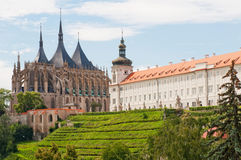 View Of Kutna Hora Stock Images