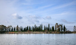 Free View Of Lake With Tree Line Stock Images - 29900464