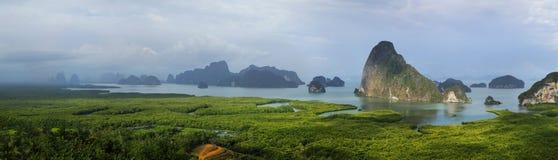 Free View Of Limestone Island In Phang Nga Bay Stock Photos - 217692823