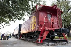 Free View Of Locomotive Park, Folksy Locale With Historic Steam-powered Passenger Trains & Nostalgic Exhibits Stock Image - 150139931