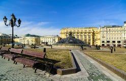 View Of Manezhnaya Square. Royalty Free Stock Image