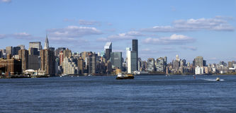 View Of Manhattan Royalty Free Stock Images