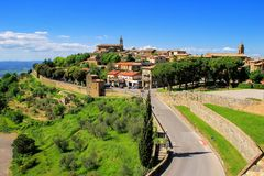 Free View Of Montalcino Town From The Fortress In Val D`Orcia, Tuscan Royalty Free Stock Images - 101708689