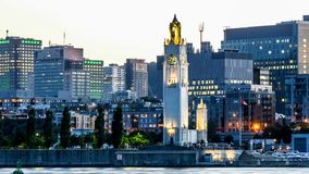 Free View Of Montreal Downtown At Sunset, Quebec, Canada Royalty Free Stock Photography - 110411287