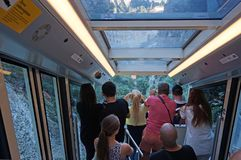 Free View Of Montserrat From The Funicular Train Stock Images - 158115774
