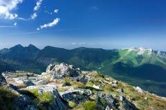 View Of Mountain Peaks Stock Photos