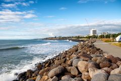 Free View Of New Plymouth Coastal Walkway, North Island, New Zealand Royalty Free Stock Photo - 167864005