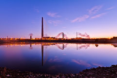 View Of Nickel Plant Royalty Free Stock Photography