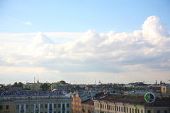Free View Of Old European City From Height Of Bird S Flight. Saint Petersburg, Russia, Northern Europe. Royalty Free Stock Photo - 74726455