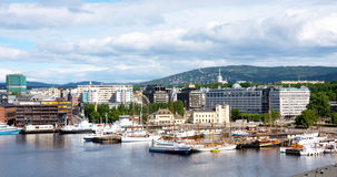 View Of Oslo Royalty Free Stock Photos
