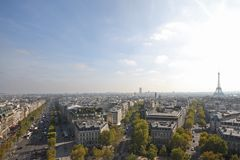 View Of Paris Royalty Free Stock Image