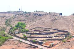Free View Of Ratnadurg Fort And Lighthouse, Ratnagiri, Maharashtra, India... Royalty Free Stock Photography - 91767947