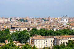 View Of Rome From Janiculum Hill Stock Photography