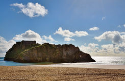 View Of St Catherines Island, Tenby. Royalty Free Stock Photo