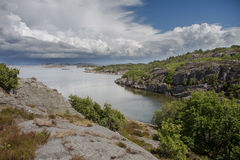 View Of Swedish Coast Stock Photos