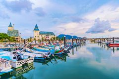 Free View Of Tamsui Fisherman`s Wharf Royalty Free Stock Photos - 110978638