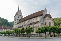Free View Of The 12th Century Church Of Stock Image - 159924301