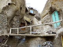 Free View Of The Ancient Village Of Kandovan, Where Houses Were Built In The Mountains, Tabriz, Iran Stock Image - 189765591