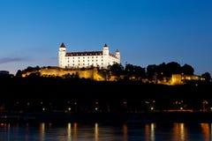 Free View Of The Bratislava At Night Stock Photo - 33121100