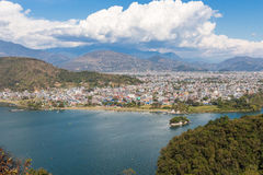 Free View Of The City Pokhara Royalty Free Stock Photo - 52851815