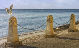 Free View Of The Indian Ocean From Cottesloe Beach, Perth, Western Australia, Stock Image - 115634231