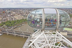 Free View Of The London Eye Royalty Free Stock Photography - 24439527
