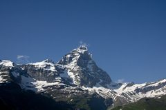View Of The Matterhorn Massif Stock Images