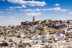 View Of The Medina And The Castle Kasbah Of Tunisia In Sousse. Stock Images